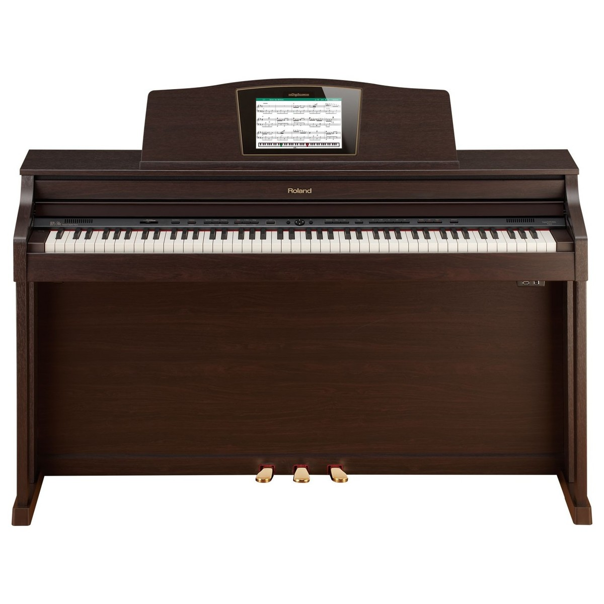 roland hpi 50e digital piano rosewood ex demo at gear4music. Black Bedroom Furniture Sets. Home Design Ideas