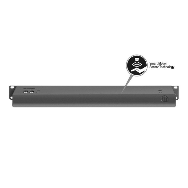 Adam Hall 19'' LED Sensor Rack Light, 1U, Multi-Coloured 3
