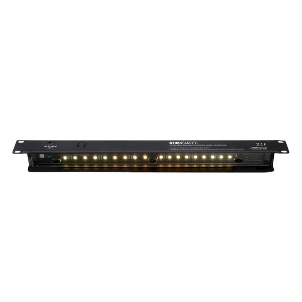 Adam Hall 19'' LED Sensor Rack Light, 1U, Multi-Coloured 7