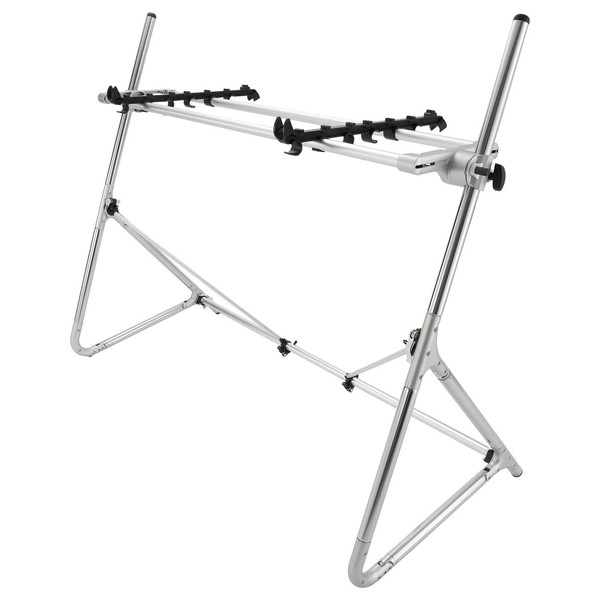Sequenz Standard STD-M-SV 73/76-Note Keyboard Stand, Silver - Main