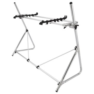 STD-M-SV 73/76-Note Keyboard Stand, Silver - 2nd Configuration