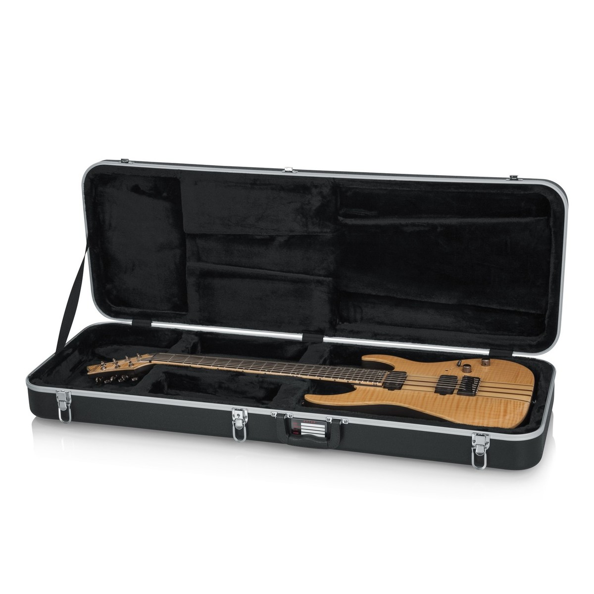 gator gc elec xl deluxe moulded case for electric guitars extra long b stock at gear4music. Black Bedroom Furniture Sets. Home Design Ideas