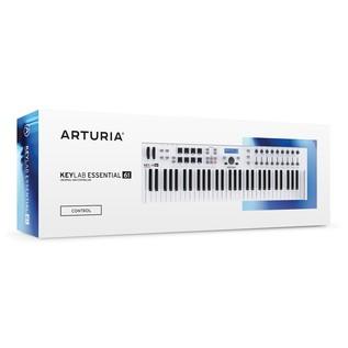 Arturia KeyLab Essential 61 MIDI Keyboard Packaging