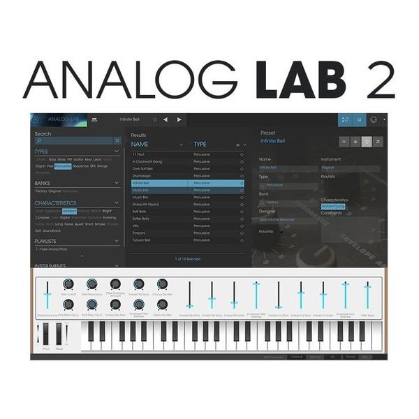 Arturia KeyLab Essential 61 MIDI Keyboard Analog Lab