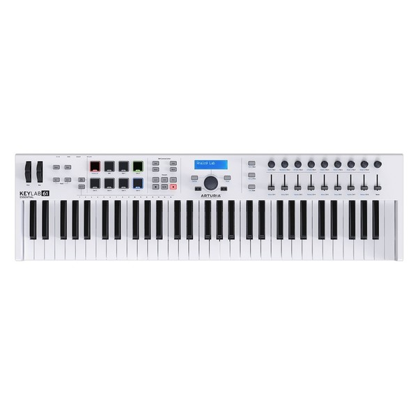 Arturia KeyLab Essential 61 MIDI Keyboard Top