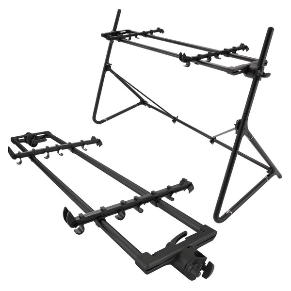 Sequenz Standard Double Tier Large Stand, Black - Main