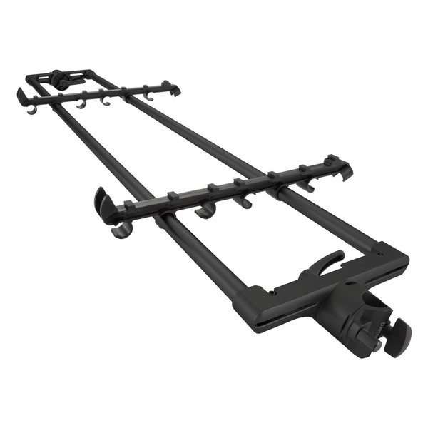 Sequenz STA-L-B Tier Adapter, Black - Angled