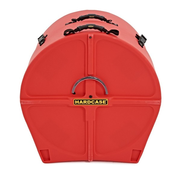 Hardcase 24 Bass Drum Case, Red