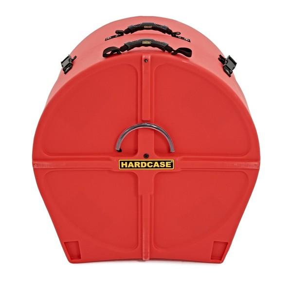 Hardcase 24 Bass Drum Case, Red