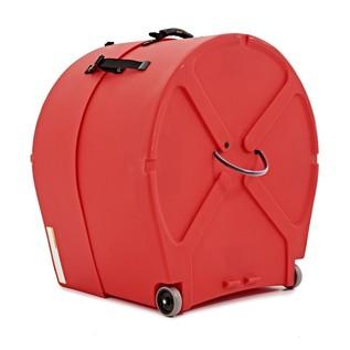 "24"" Red Hardcase Bass Drum Case"