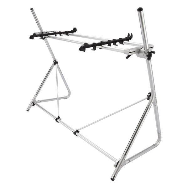 STD-M-SV 73/76-Note Keyboard Stand, Silver - Second Config