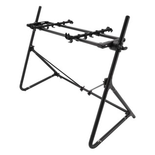 Sequenz Standard STD-S-ABK 61-Note Keyboard Stand, Black - Angled