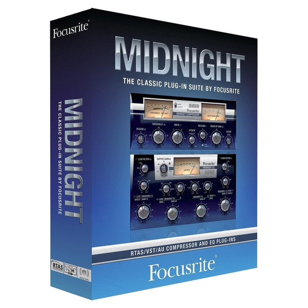 Focusrite Midnight Plugin Collection - Boxed