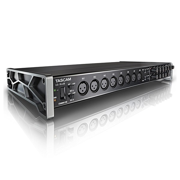 Tascam US-16x08 Audio Interface Main Side