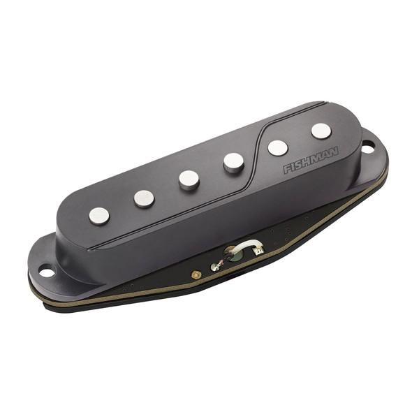 Fishman Fluence Multi Voice Single Width Strat Pickup, Black