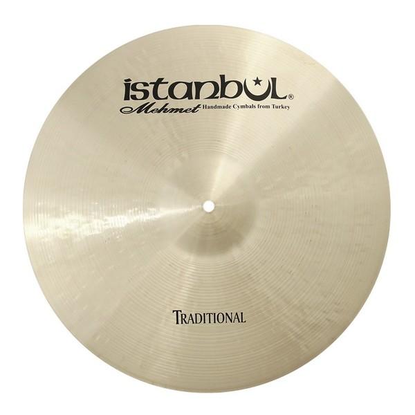 "Istanbul Mehmet Traditional 17"" Dark Crash Cymbal"