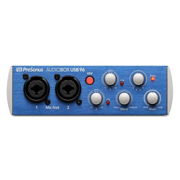 PreSonus Audiobox 96 - Front