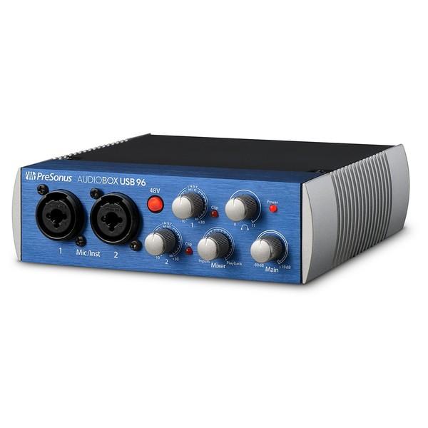 PreSonus Audiobox 96 - Angled