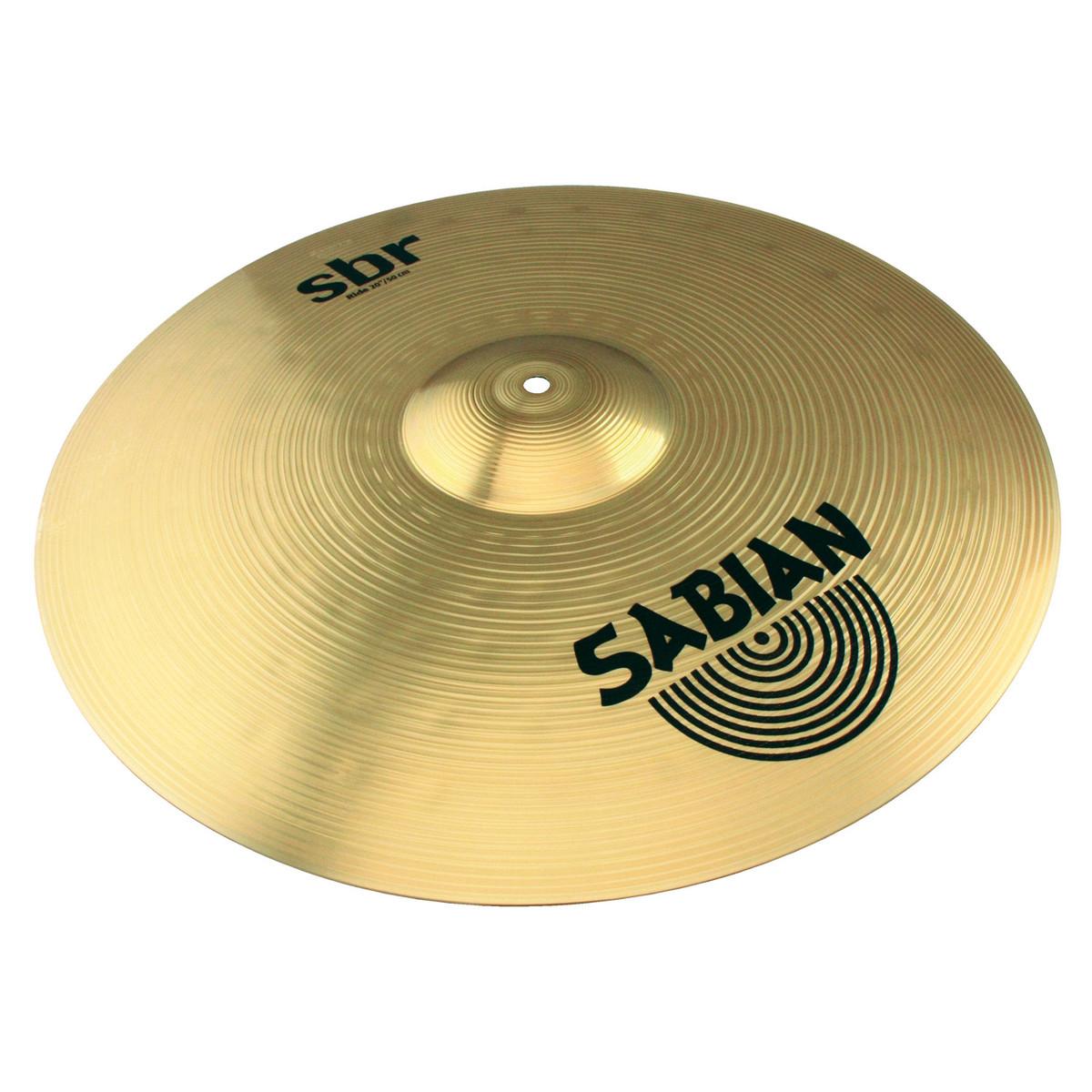 sabian sbr cymbal performance set 14 39 39 hi hat 16 39 39 crash 20 39 39 ride b stock at gear4music. Black Bedroom Furniture Sets. Home Design Ideas