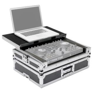 Magma DJ Controller Workstation/Case, Traktor S2 - Angled