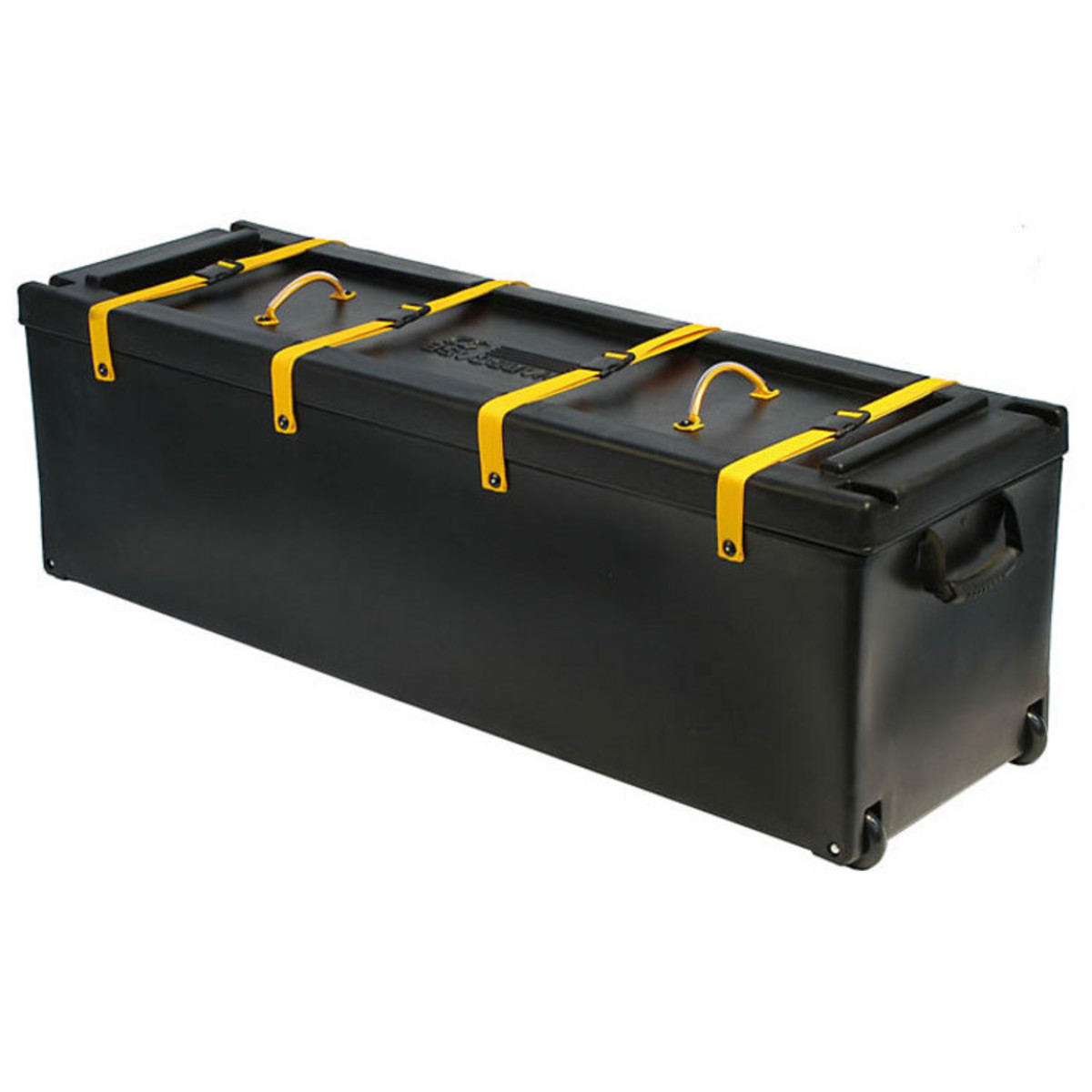 hardcase 52 hardware case with wheels box opened at gear4music. Black Bedroom Furniture Sets. Home Design Ideas