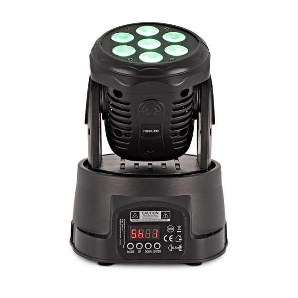 ORBIT 70W LED Mini Moving Head Light by Gear4music