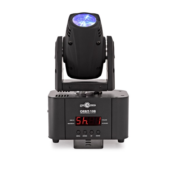 10w Mini Moving Head Beam Light by Gear4music