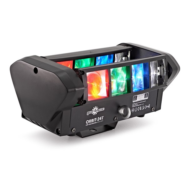 8 x 3w Bar Moving Head Light by Gear4music