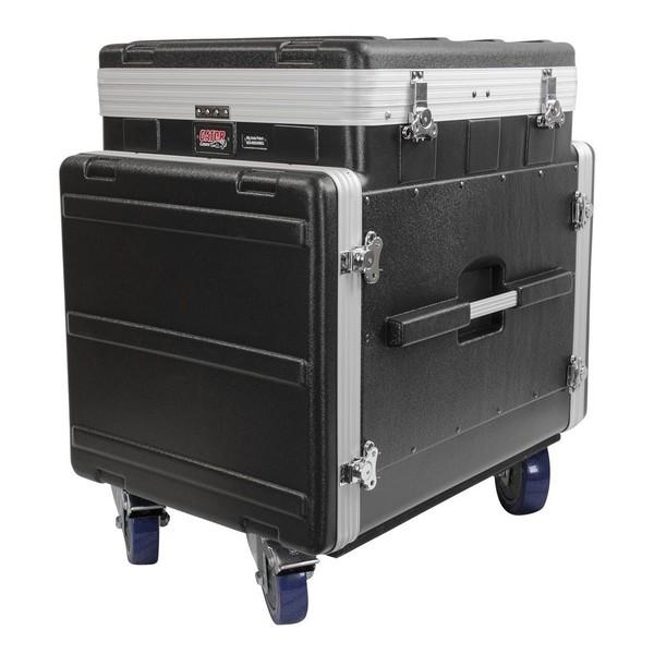 Gator GRC-12X10 PU Moulded Pop-Up Rack Case, 12U Top, 10U Side 1