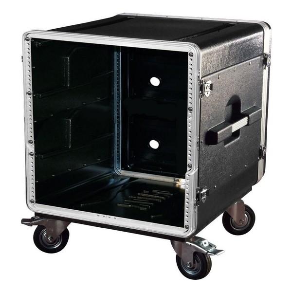 Gator GRC-BASE-10 Moulded Rack Case With Casters, 10U, 21'' Depth 1