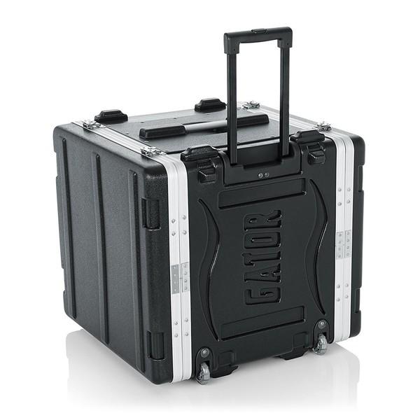 Gator GRR-10L Lockable Moulded Rolling Rack Case, 10U 1