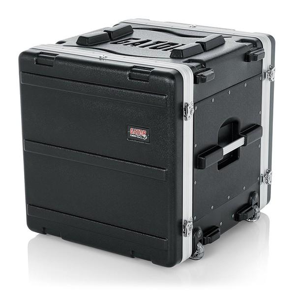 Gator GRR-10L Lockable Moulded Rolling Rack Case, 10U 2