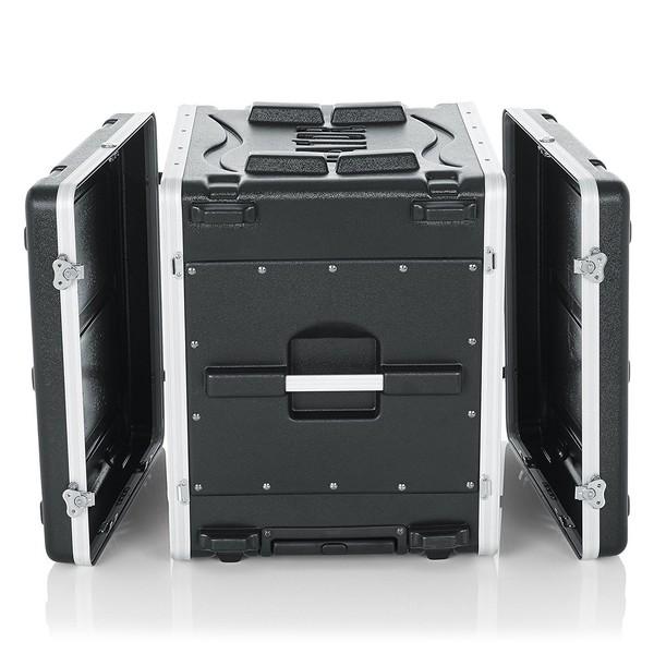 Gator GRR-10L Lockable Moulded Rolling Rack Case, 10U 4