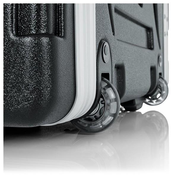 Gator GRR-10L Lockable Moulded Rolling Rack Case, 10U 6