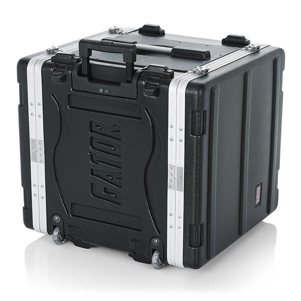 Gator GRR-10L Lockable Moulded Rolling Rack Case, 10U 8