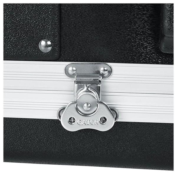 Gator GRR-10L Lockable Moulded Rolling Rack Case, 10U 10