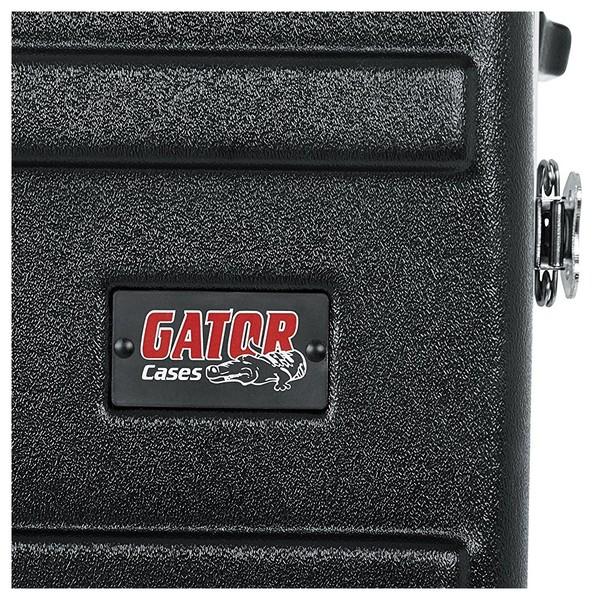 Gator GRR-10L Lockable Moulded Rolling Rack Case, 10U 12
