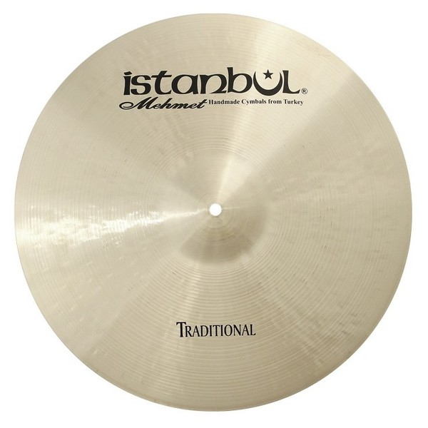 Istanbul Mehmet Traditional Thin 18'' Crash Cymbal