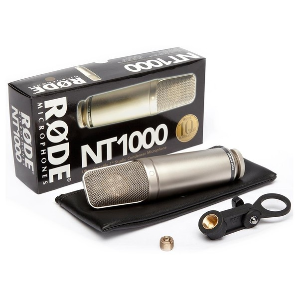 Rode NT1000 - Full Contents