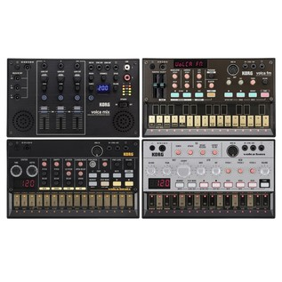 Korg Volca Mix Pack Inc Volca Mix, Beats, FM & Bass - Bundle