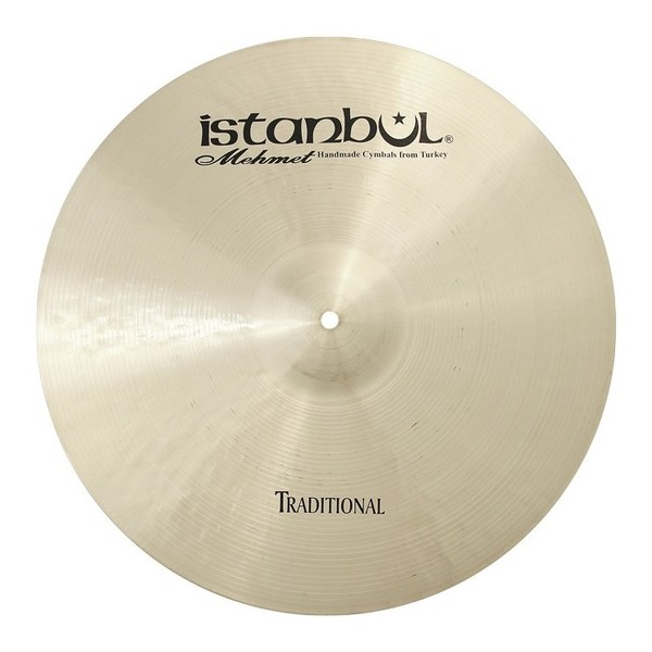 Istanbul Mehmet Traditional Paper Thin 15'' Crash Cymbal