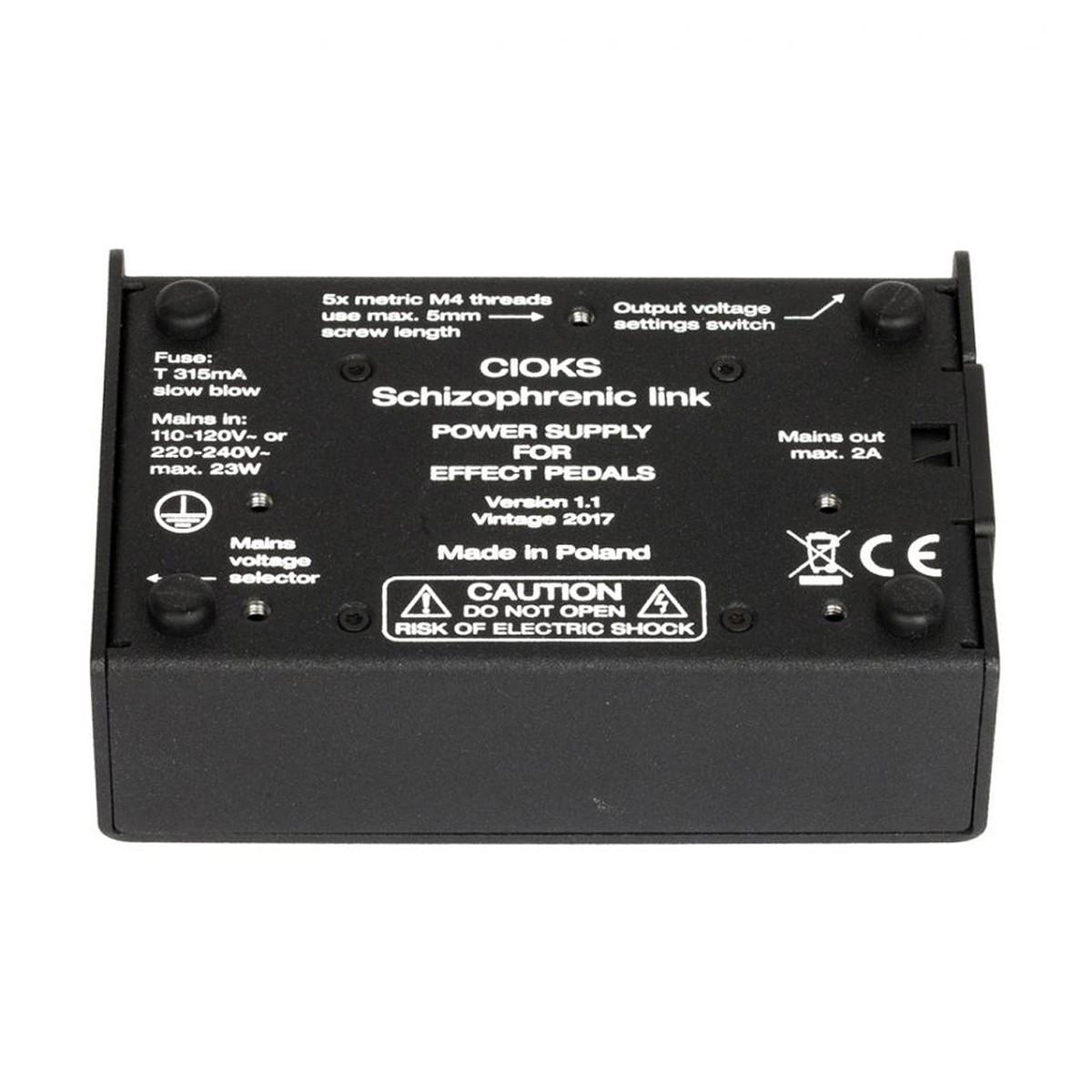 Cioks Schizophrenic Link Power Supply Box Opened At Gear4music Fuse