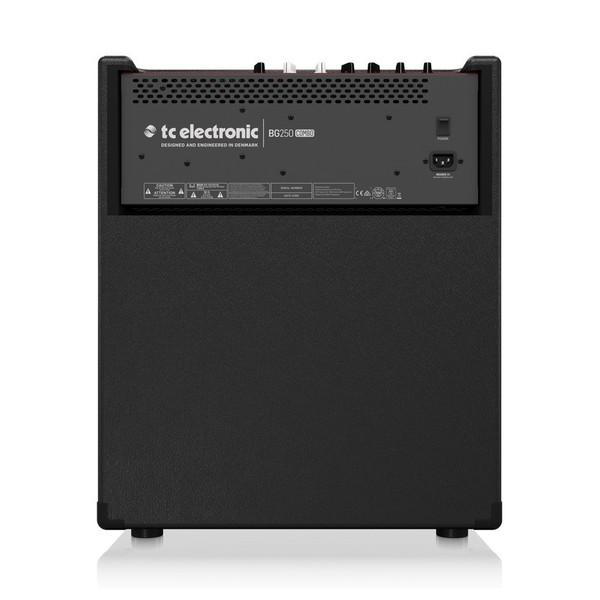 TC Electronic BG250-112 Bass Combo Amp Rear