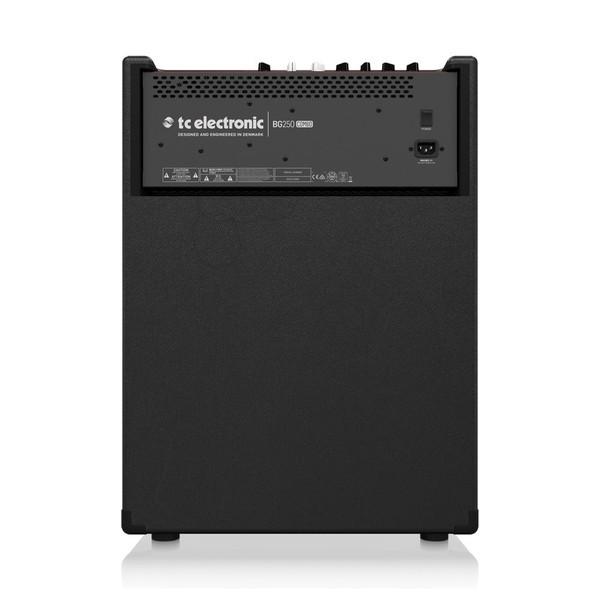 TC Electronic BG250-115 MKII Bass Combo Amp Rear