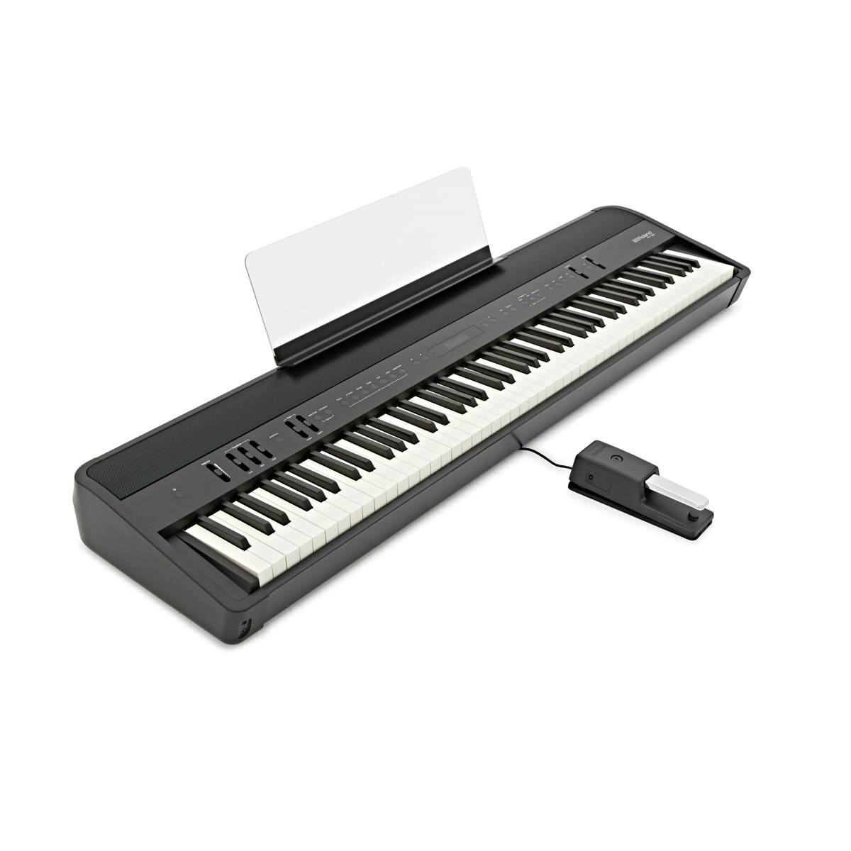 roland fp 90 digital piano black at gear4music. Black Bedroom Furniture Sets. Home Design Ideas