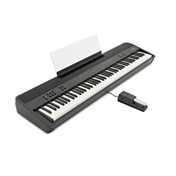 roland fp 90 digital piano black at gear4music. Black Bedroom Furniture Sets. Home Design Ideas