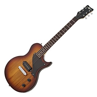 New Jersey II Electric Guitar by Gear4music, Tobacco Sunburst