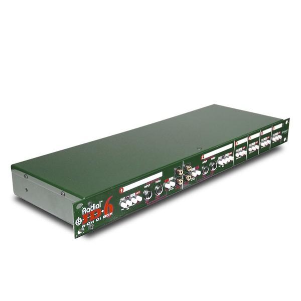 Radial JD6 Six-Channel Rackmount DI Unit 1