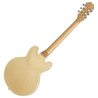 Epiphone Casino Coupe, Natural Back