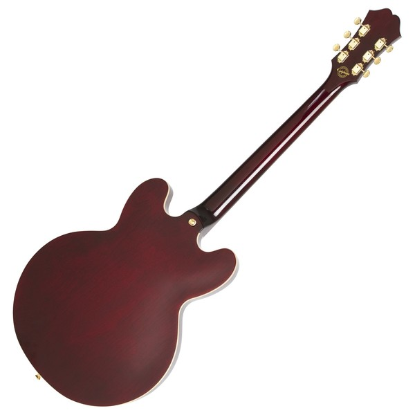 Epiphone Riviera Custom P93, Wine Red Back